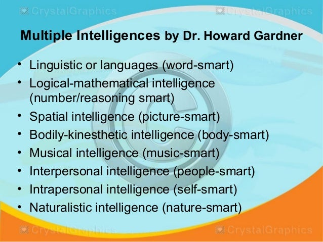 dr howard gardner suggest intelligence based on i q testing is limited Ronald jay cohen,mark swerdlik,edward sturman's psychological testing  howard gardner,  such reviews suggest that even though intelligence checks may.