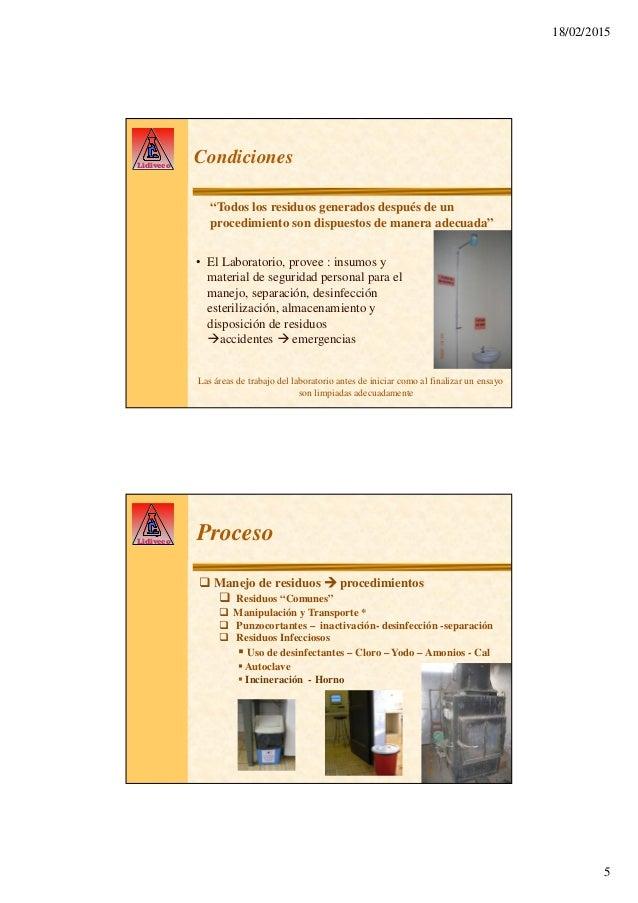 Gestión residuos laboratorio veterinario LIVID
