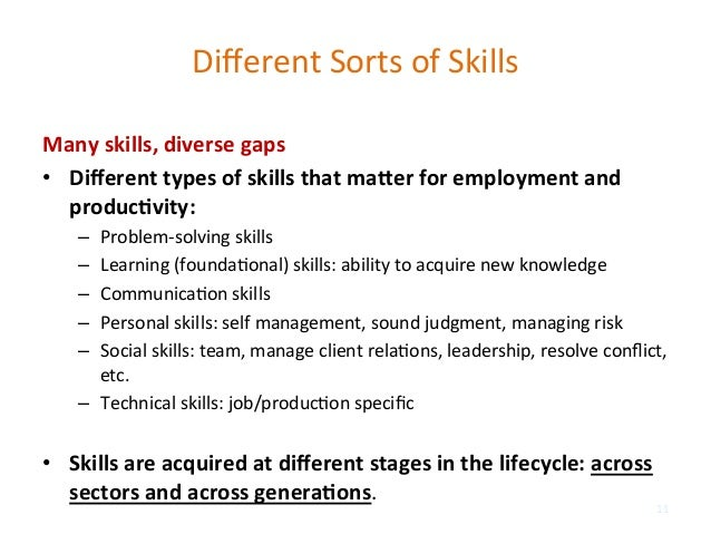 dierent - Different Types Of Technical Skills