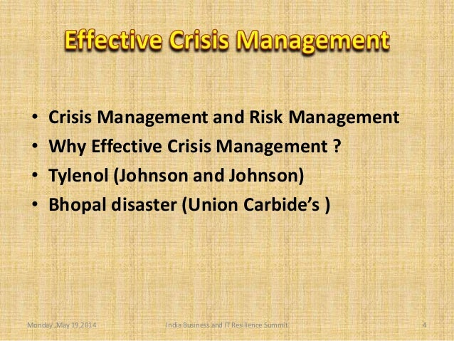 crisis management case study johnson and johnson Get access to case study the johnson johnson tylenol crisis essays only from anti essays listed results 1.