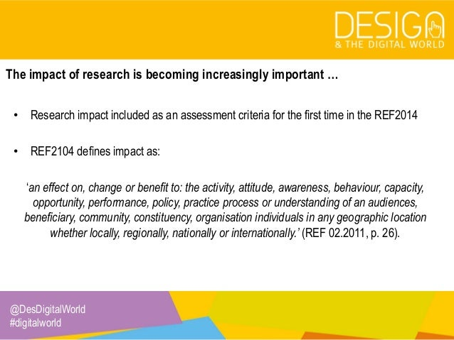 6. Planning for research impact Slide 2