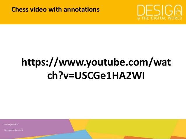 6. Representation of video data - Mark-ups/annotations Slide 2