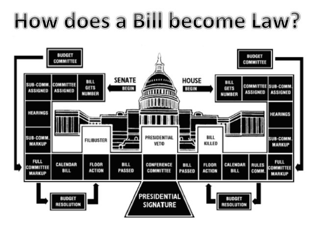 the process of taking a bill through house of representatives and becoming a law in the us Of how a bill becomes public law by becoming the bill's sponsor representatives usually house bills are debated through a.