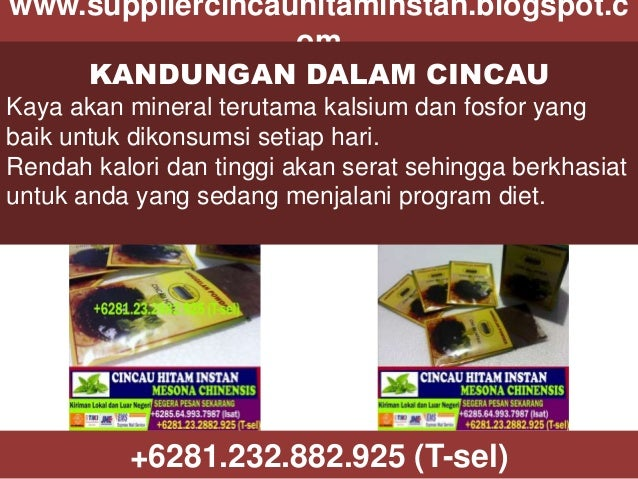 www.suppliercincauhitaminstan.blogspot.c om KANDUNGAN DALAM CINCAU Kaya akan mineral terutama kalsium dan fosfor yang baik...
