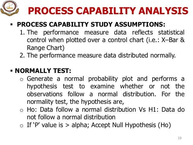 Process capability study pdf