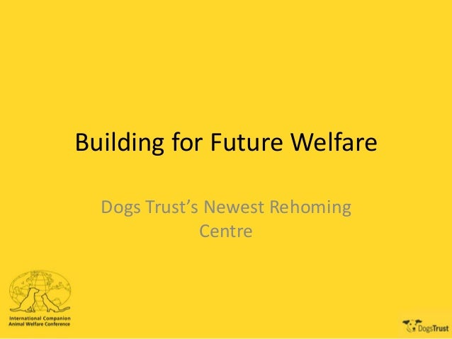 Building for Future Welfare Dogs Trust's Newest Rehoming Centre