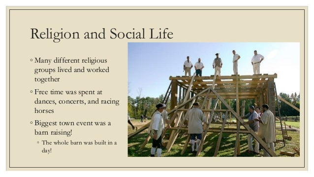 Life In The Middle Colonies - Middle colonies religion