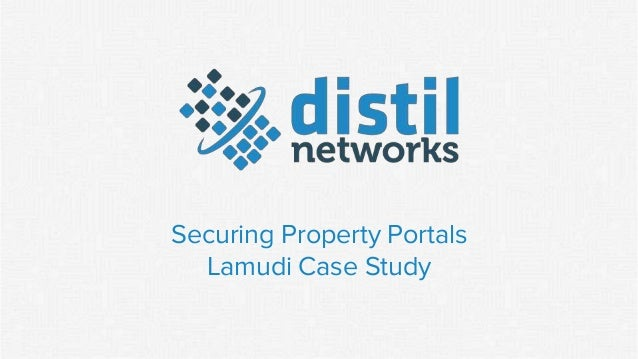 Securing Property Portals Lamudi Case Study