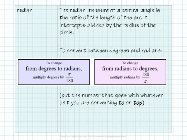 how to find arc length with radius and angle