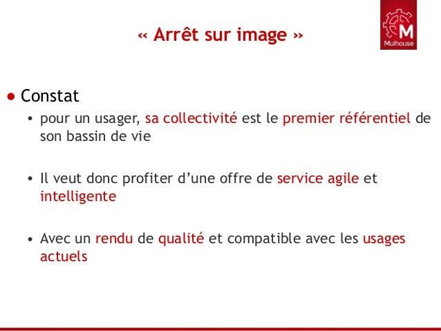 Services numérique à la population - Ville de Mulhouse Slide 2
