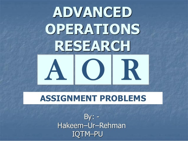 research problem assignment Environmental context ot the problem marketing research assignment and online homework help to understand the background of a marketing research problem, the.