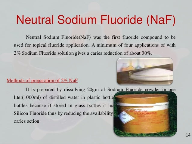 how to make sodium fluoride