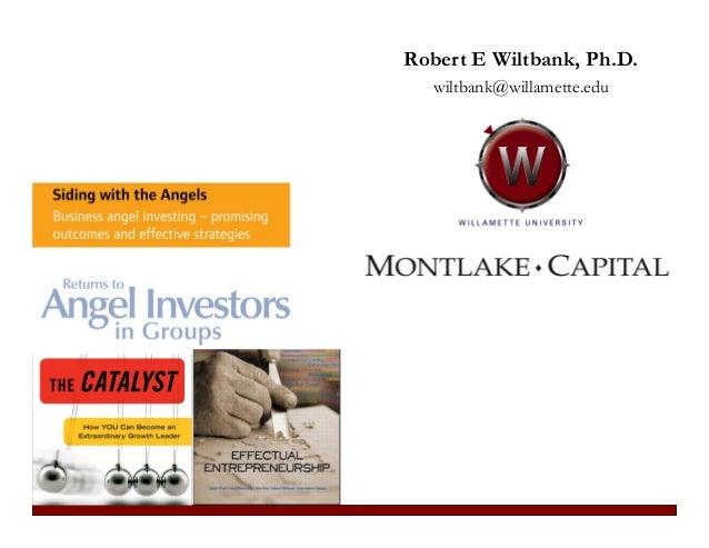Robert E Wiltbank, Ph.D. wiltbank@willamette.edu