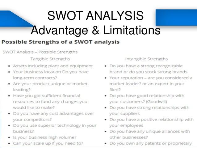 swot analysis strengths