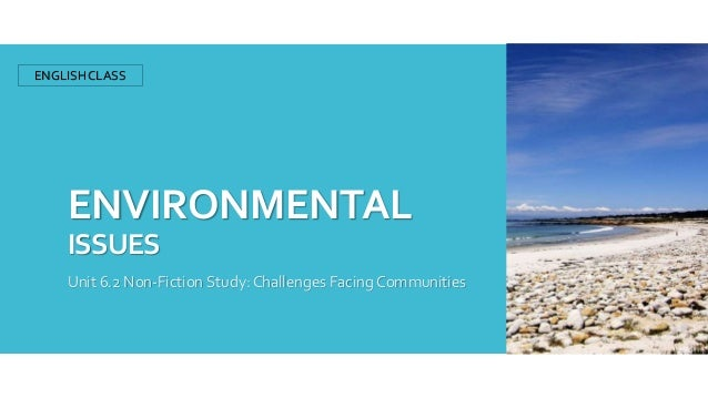 environmental issues and challenges Step courses bring together students, faculty, staff, and community mentors to engage in interdisciplinary discussion and environmental action.