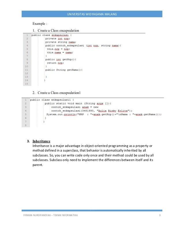 6 Materi Java Eclipse 6