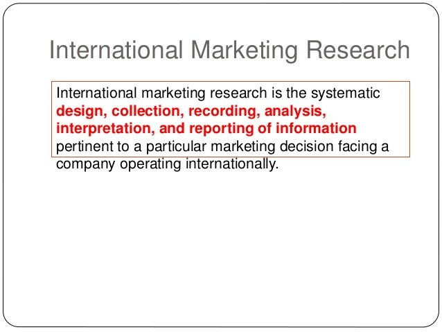 different types of marketing research a collections and analysis of information to support marketing Quantitative marketing research: the quantitative marketing research helps in gathering the data and information in a numerical form and is generally measured in the units of measurement the data collected by quantitative research can be used to create graphs of raw data.