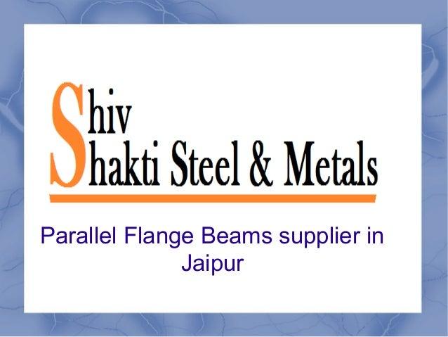 Parallel Flange Beams supplier in Jaipur