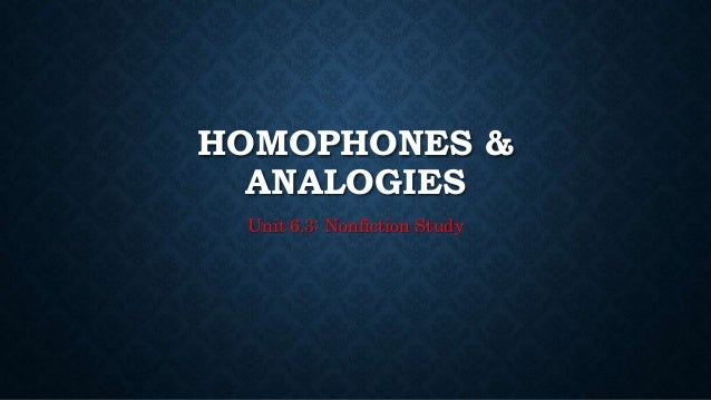 Worksheets Beasley And Homophones 6 3 homophones analogies unit nonfiction study