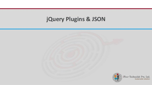 jQuery plugins & JSON