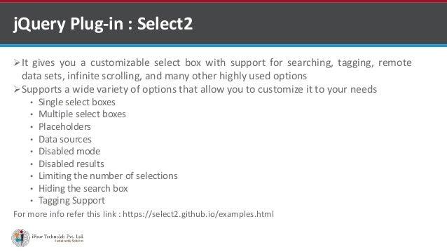 Select2 Hide Options