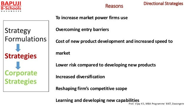 Reasons To increase market power firms use Overcoming entry barriers Cost of new product development and increased speed t...