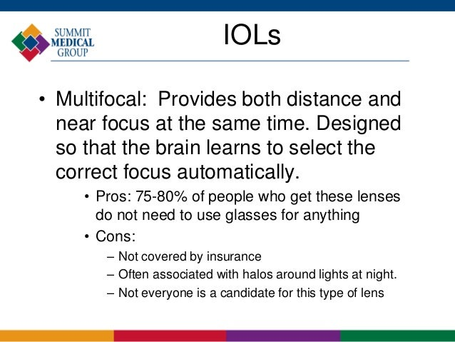Halos With Multifocal IOLs ...