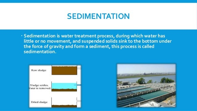 Sedimentation And Its Types