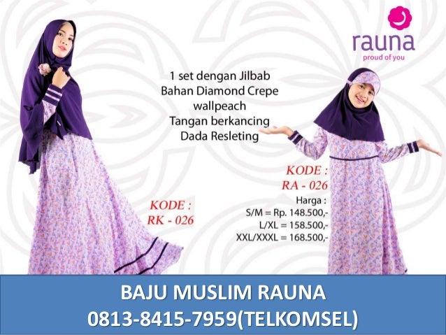 Baju Pesta Muslim Couple Ibu Dan Anak Perempuan 0813 8415 7959 Telkom