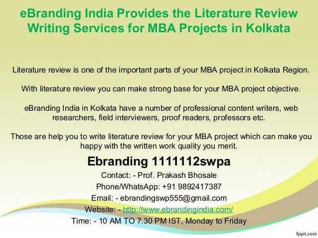 cheap literature review writing service for mba