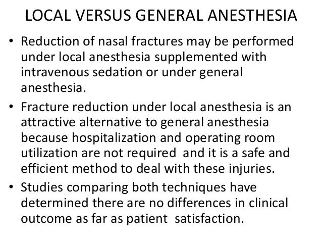 Conclusion • Skilled management of nasal and septal fractures requires a detail understanding of facial anatomy, causes of...