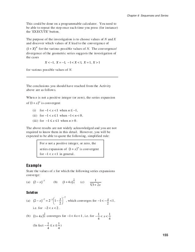 6 sequences and series Further Mathematics Zimbabwe Zimsec