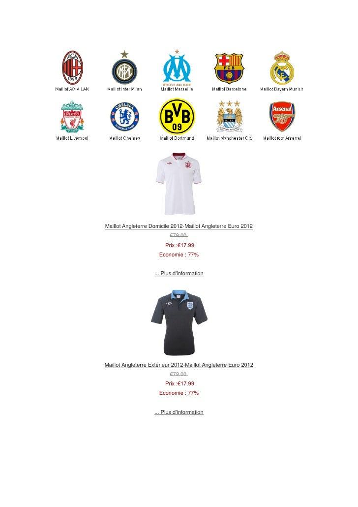 Maillot Angleterre Domicile 2012-Maillot Angleterre Euro 2012                           €79.00                         Pri...