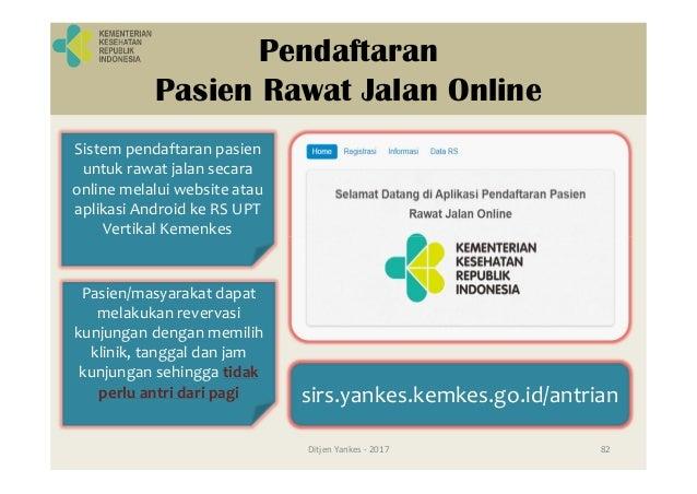 Loket pendaftaran dan monitor antrian Ditjen Yankes - 2017 94