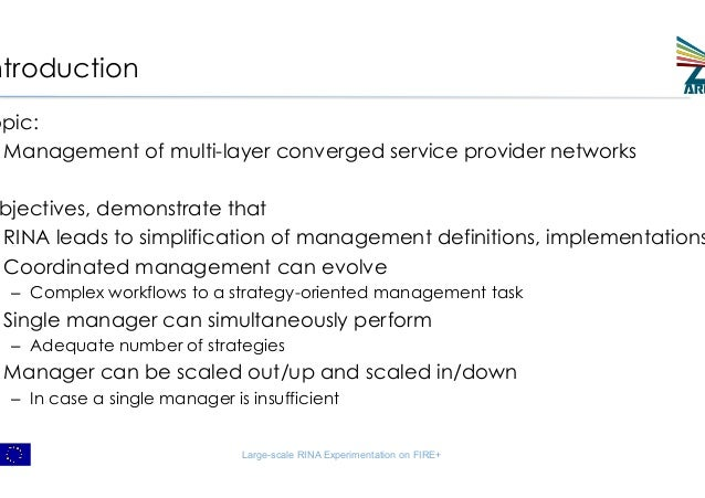 Large-scale Experimentation with Network Abstraction for Network Configuration Management Slide 2