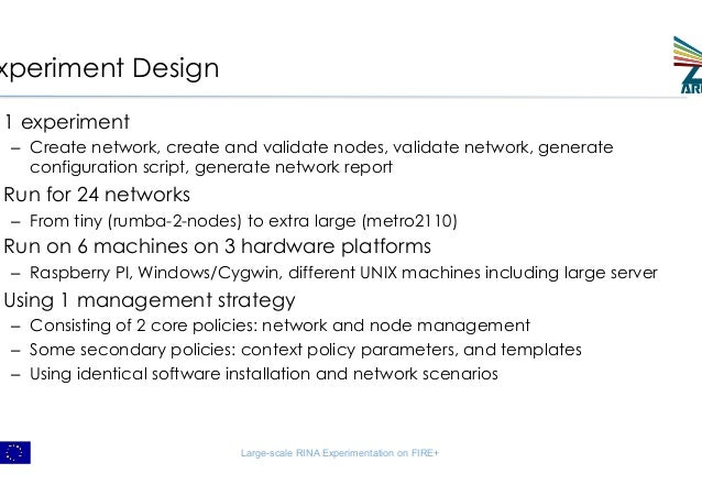 Large-scale Experimentation with Network Abstraction for Network Configuration Management Slide 3