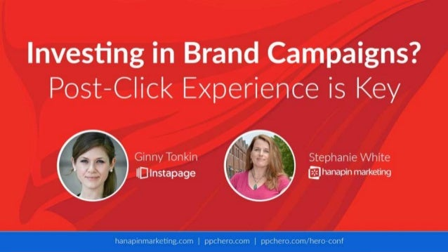 Investing in Brand Campaigns? User Experience is Key With Stephanie White and Ginny Tonkin
