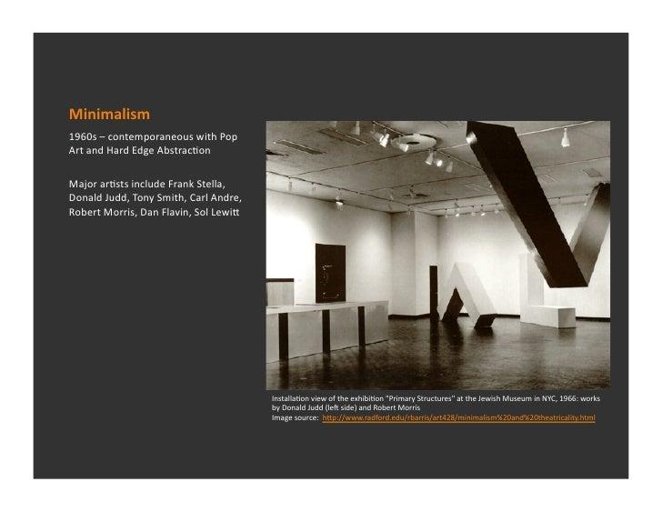 6 1 minimalism for Minimal art slideshare