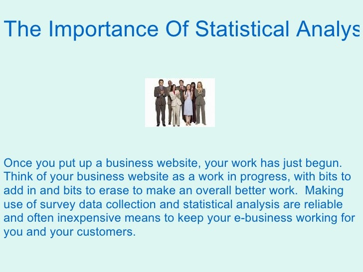 the importance of statistics in business