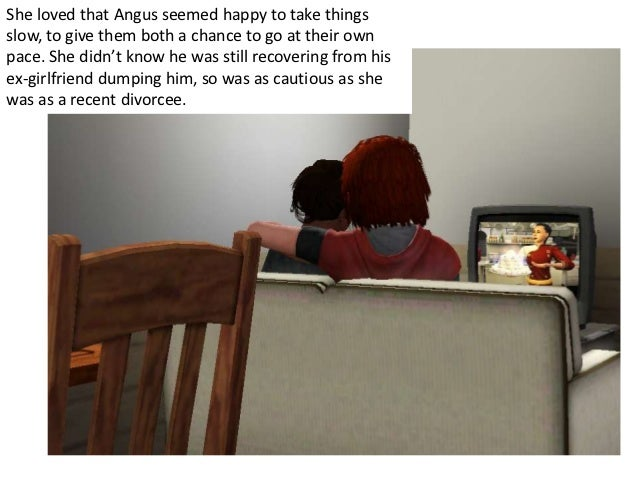 She loved that Angus seemed happy to take thingsslow, to give them both a chance to go at their ownpace. She didn't know h...