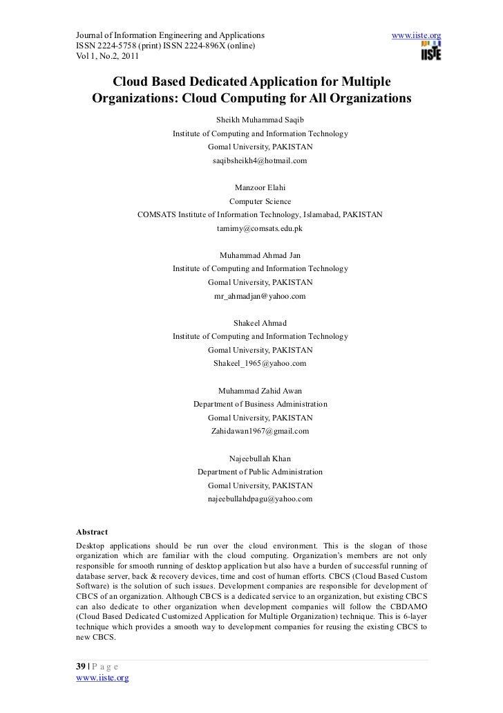 Journal of Information Engineering and Applications                                       www.iiste.orgISSN 2224-5758 (pri...
