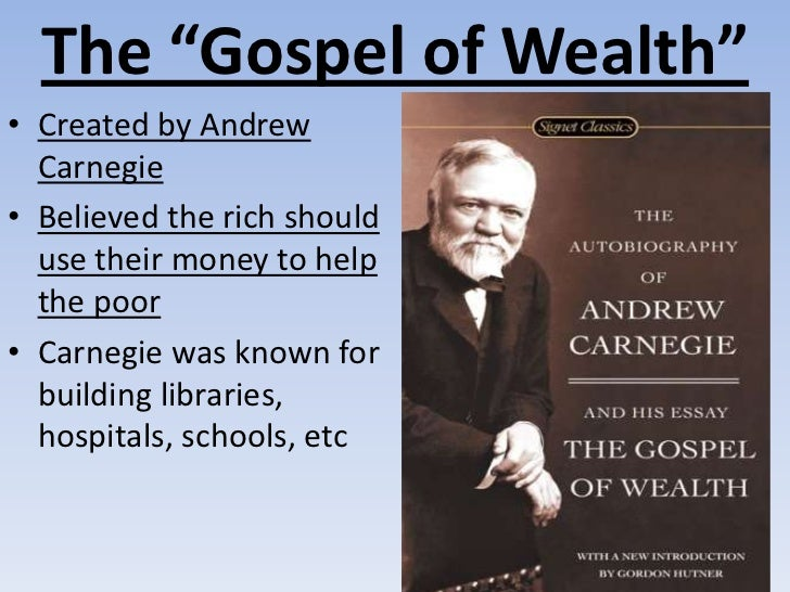 gospel of wealth review