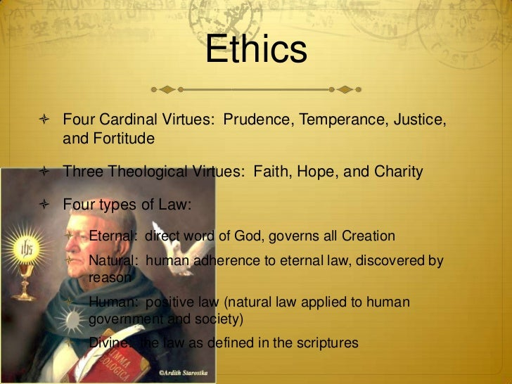an analysis of thomas aquinas four components of divine law Free research that covers law law part 1 saint thomas aquinas  statistical analysis statistics  the divine law is another one of aquinas's four components of law.