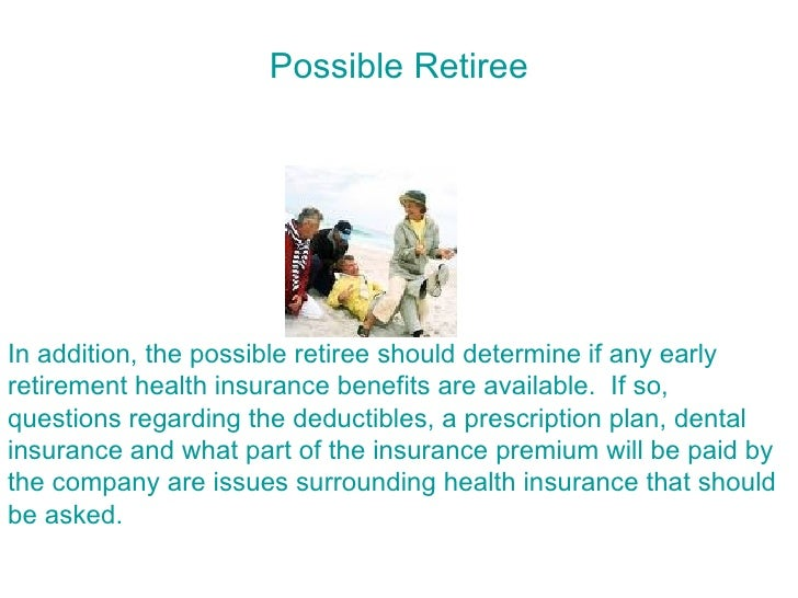 benefits of early retirement essays Category: essays research papers title: benefits of early retirement.