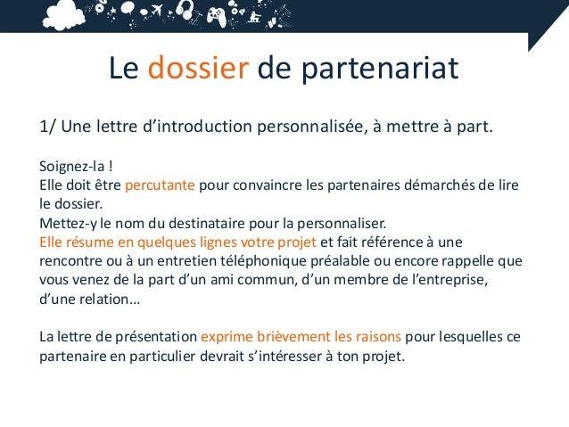 6 4 le dossier de partenariat