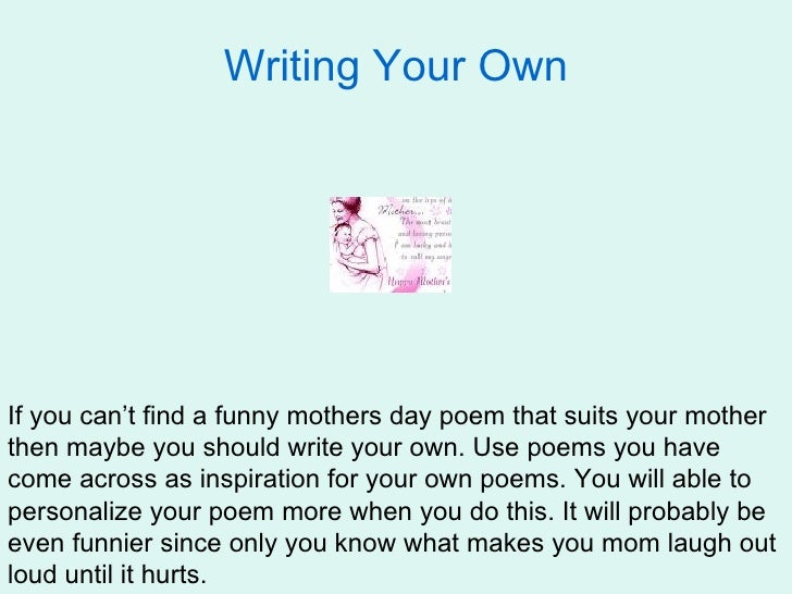 Mothers Day Poems Crafts