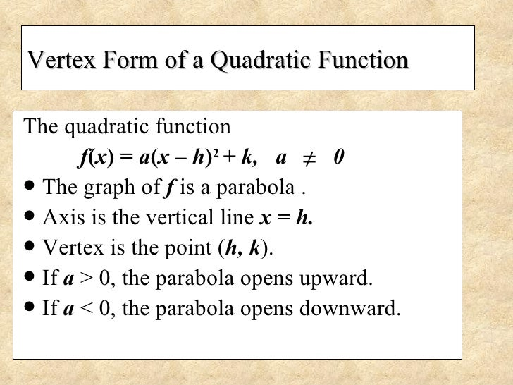 66 Analyzing Graphs Of Quadratic Functions