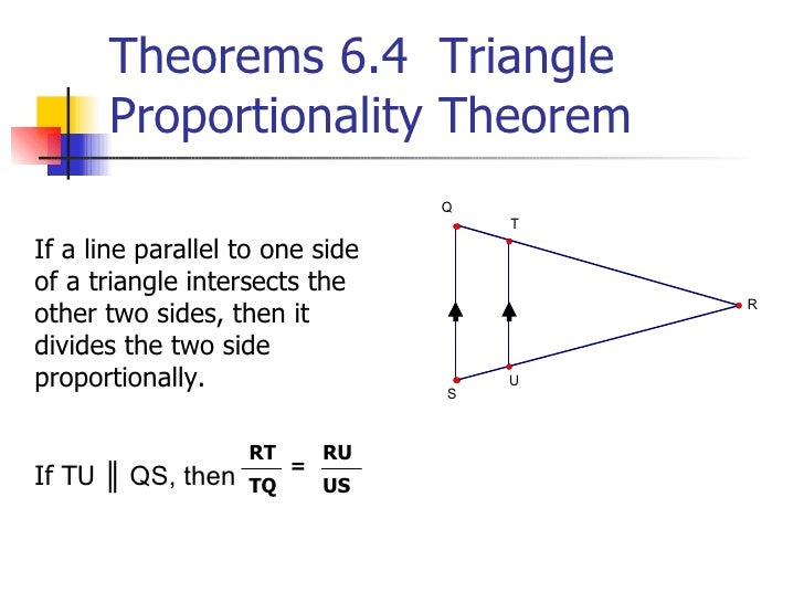 66 Proportions Similar Triangles
