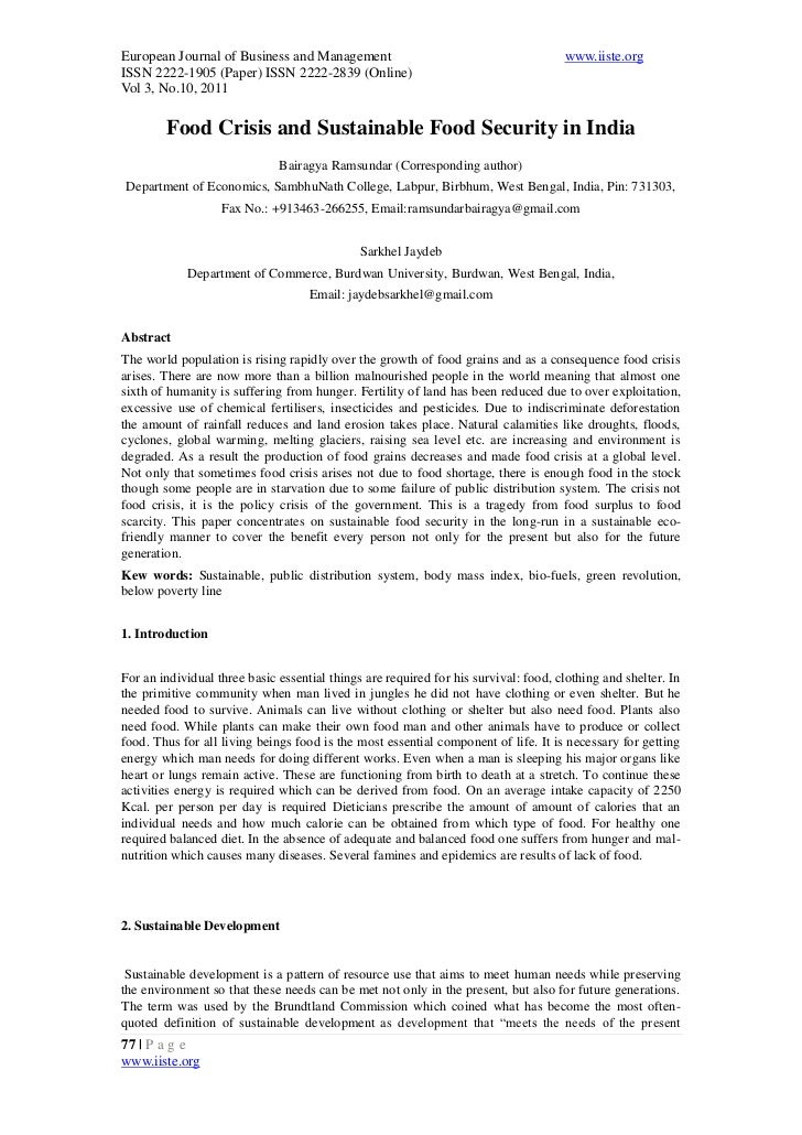 European Journal of Business and Management                                          www.iiste.orgISSN 2222-1905 (Paper) I...