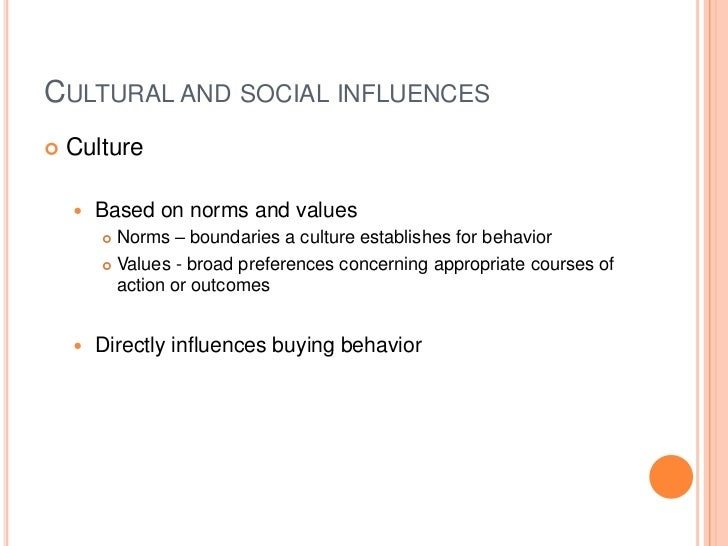 social influences on behavior week 5 Social-ecological model  a combination of multiple influences on behavior  social relationships occur and seeks to identify the characteristics of these.